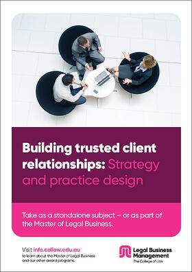 Building trusted client relationships - Strategy and practice design