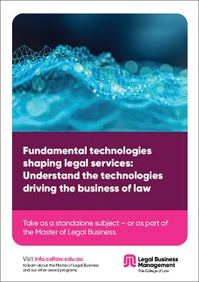 Fundamental technologies shaping legal services