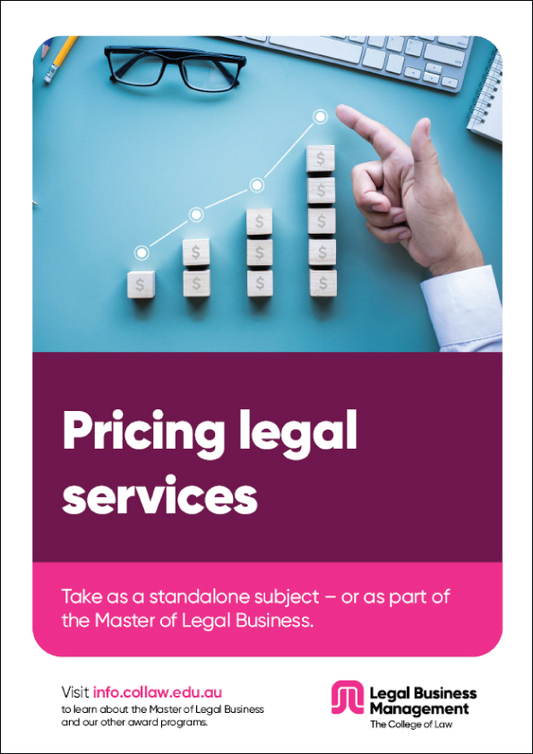 MLB pricing legal services