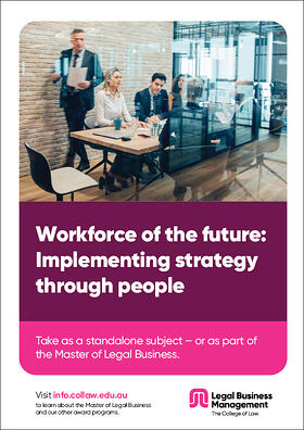 Workforce of the future - Implementing strategy through people