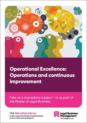 Operational excellence - Operations and continuous improvement