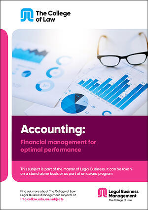 Accounting - Financial management for optimal performance Brochure