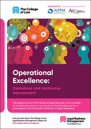 Operational excellence - Operations and continuous improvement Brochure