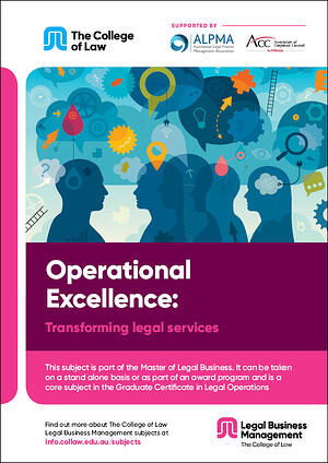 Operational excellence - Transforming legal services Brochure