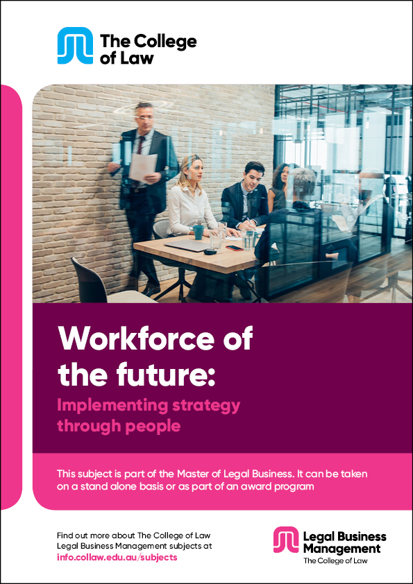 Workforce of the future: Implementing strategy through people Brochure